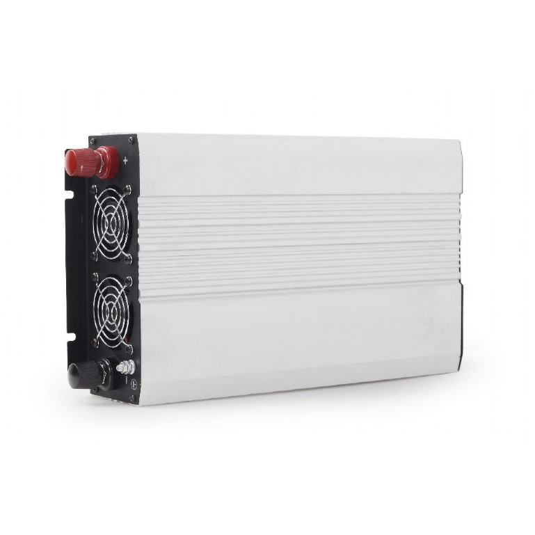 GEMBIRD EG-PWC-045, 12V menič napätia 1200 W, USB