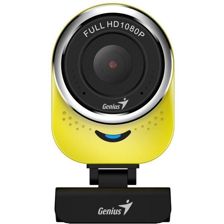 GENIUS QCam 6000, Webkamera FHD s mikrofónom yel