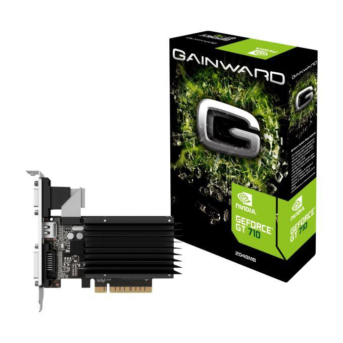 GAINWARD Grafická karta GeForce GT710 2GB SilentFX