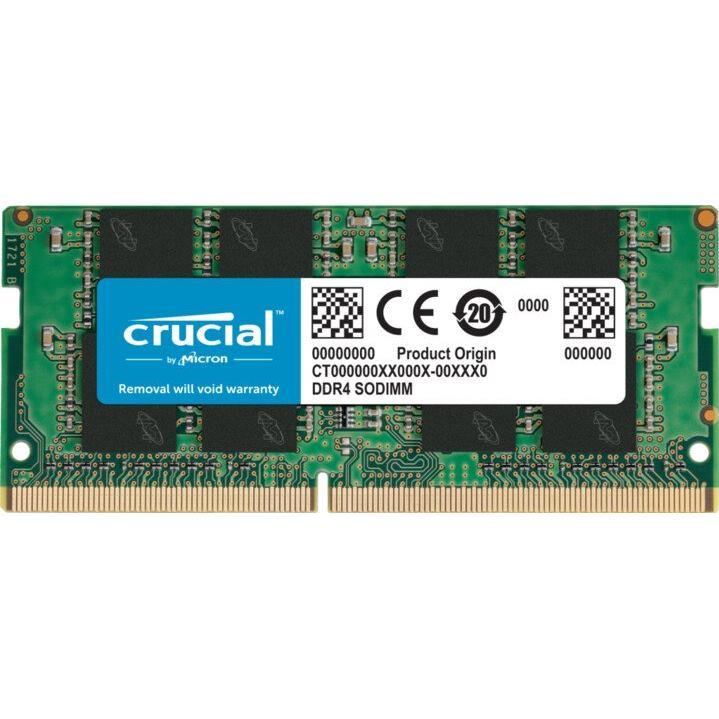 CRUCIAL 8GB/DDR4 SO-DIMM/2666MHz/CL19/1.2V