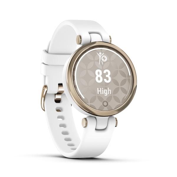 GARMIN Smart hodinky LILY, Sport, Cream Gld/Wht Si