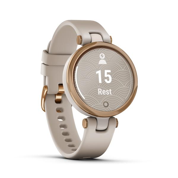 GARMIN Smart hodinky LILY, Sport, Rose Gld/Ls Si
