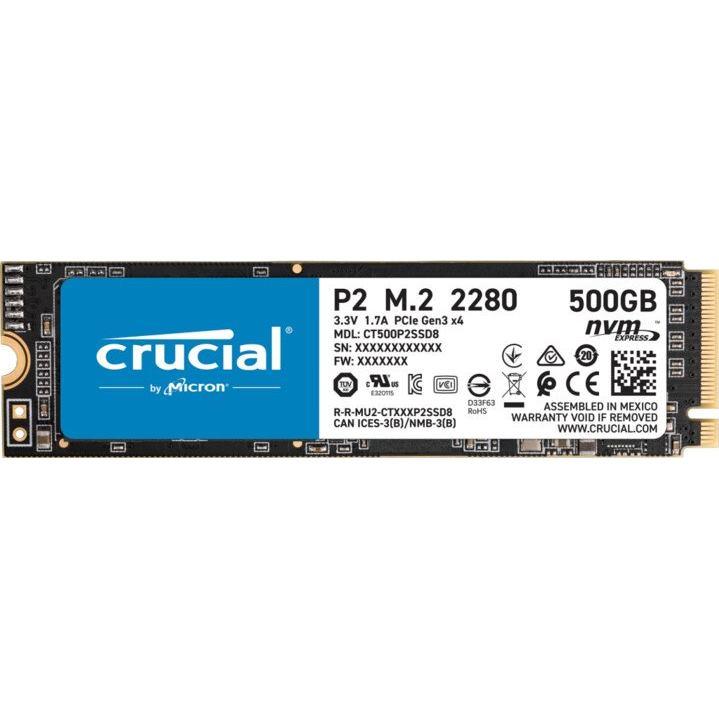 CRUCIAL P2 500GB/M.2 2280/M.2 NVMe