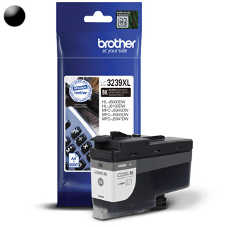 BROTHER LC3239XLBK, Cartridge, čierny (black)
