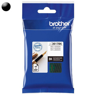 BROTHER LC3617BK, Cartridge, čierny (black)