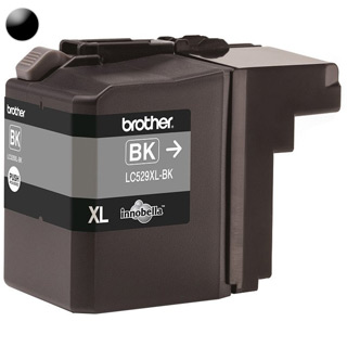BROTHER LC529XLBK, Cartridge, čierny (black)