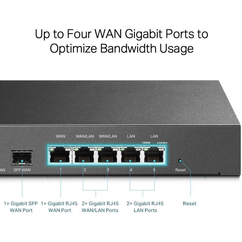 TP-Link TL-ER7206 Gigabitový router Omada SDN