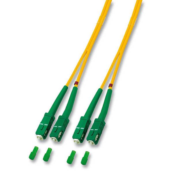 EFB kábel SC/APC-SC/APC 1m Duplex OS2(9/125um)