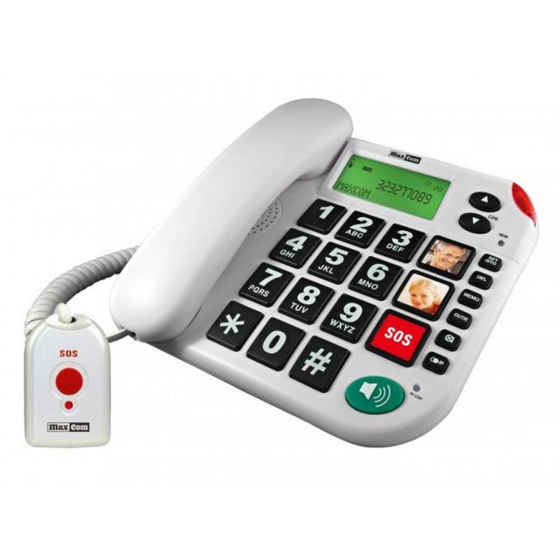 MAXCOM KXT481 SOS, Stolný telefón pre seniorov