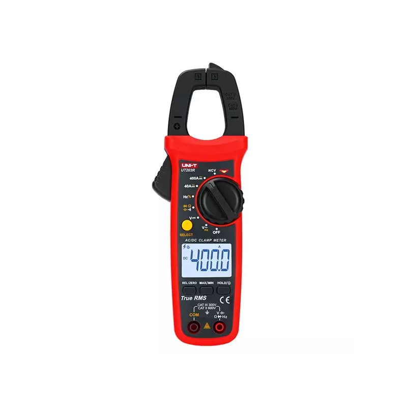 UNIT-T UT203R, Kliešťový multimeter