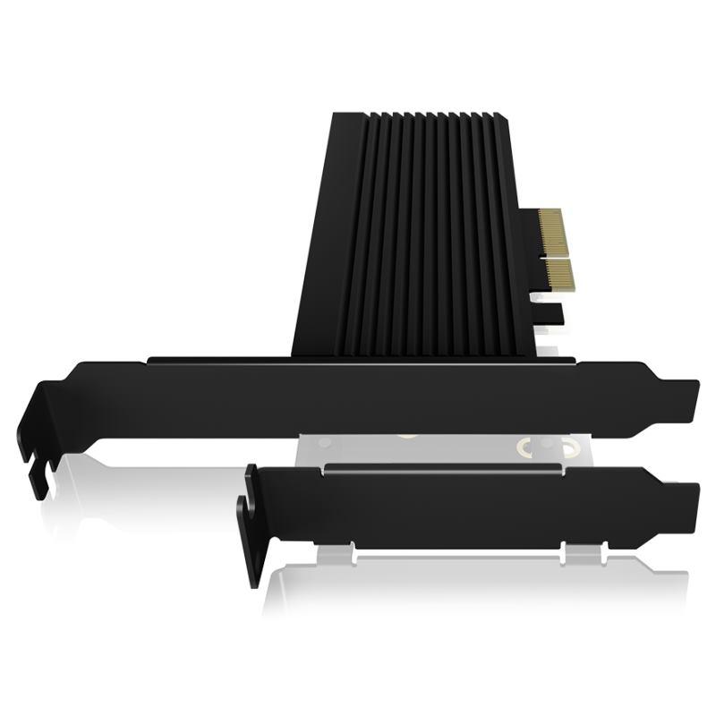 RAIDSONIC ICY BOX PCIe 4.0 karta M.2 NVMe SSD