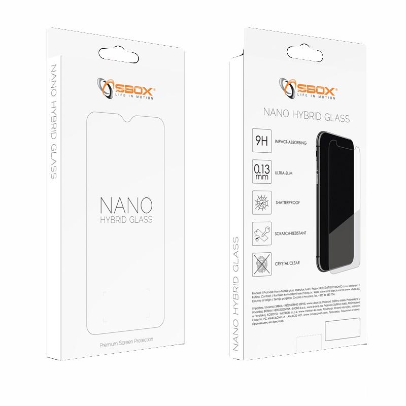 SBOX NANO Hybrid GLASS, APPLE iPhone 12 Pro MAX