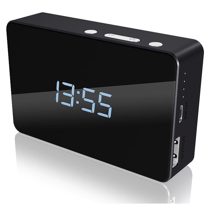 ICY BOX -- IB-PBa5000 Powerbank and alarm clock