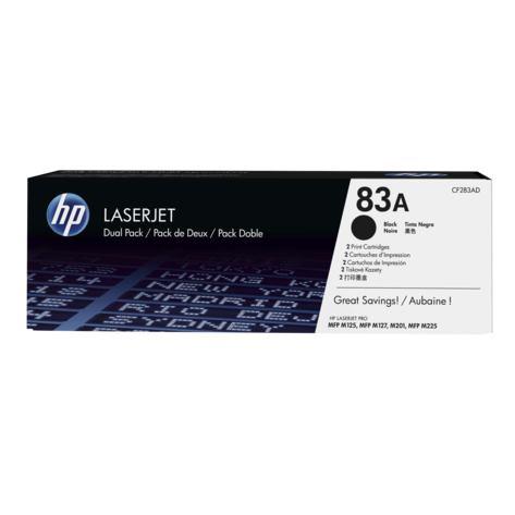 HP Toner  CF283AD black HP 83A