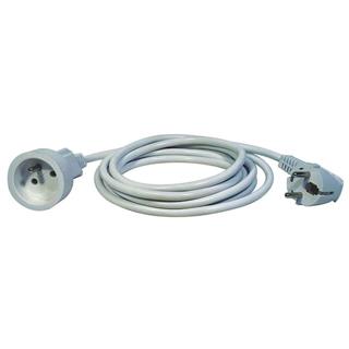 EMOS Predlžovací kábel 3x1mm 1zásuvka 7m biela