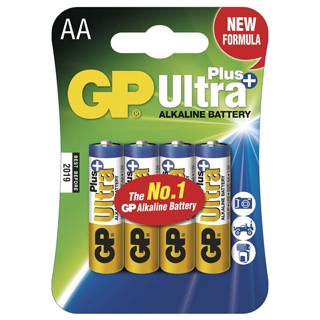 GP Batérie Ultra Alkalické AA 4ks 15AUP LR6 BL