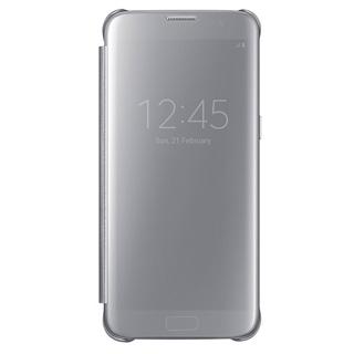 SAMSUNG Púzdro CLEAR VIEW pre Galaxy S7 EDGE strie