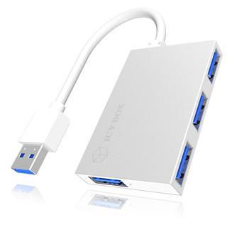 RAIDSONIC 4 Portový USB 3.0 HUB IB-HUB1402