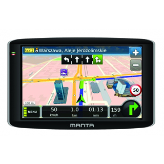 MANTA GPS Navigácia 7