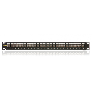 Patch panel 24port cat. 6a STP 10G, KEP-CEA-S-10G