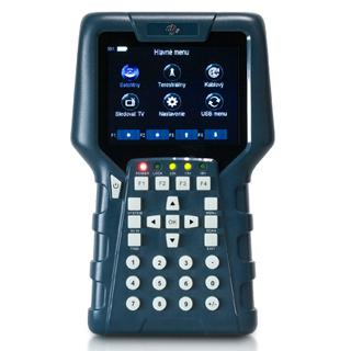 AB CryptoBox Merací prístroj MeTrio 2 DVB-T2/C2/S2
