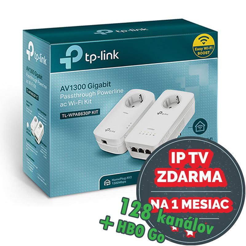 TP-Link AV1200 Gigabit Powerline AC Wi-Fi PKit