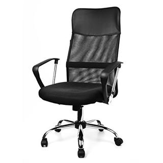 HOME KRAFT Kancelárska stolička AIR PLUS čierna