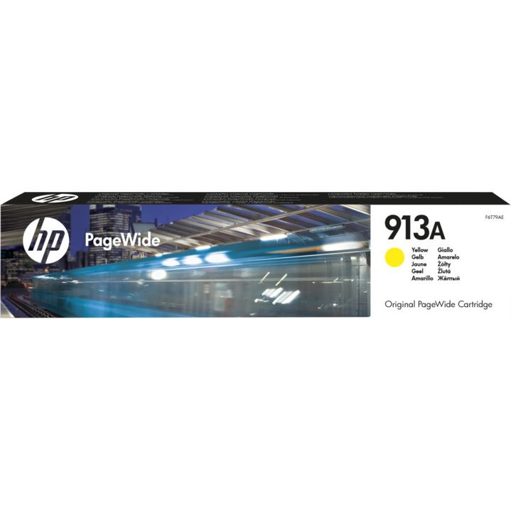 HP Cartridge PageWide F6T79AE 913A Yellow 3000str