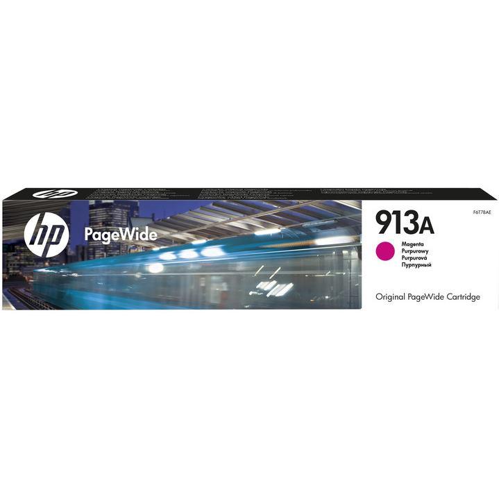 HP Cartridge PageWide F6T78AE 913A Magenta 3000str
