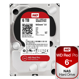 "WD Red PRO 6TB 3,5""/128MB/26mm"