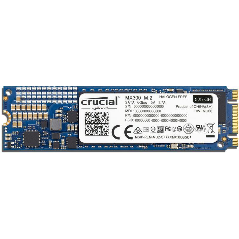 CRUCIAL SSD MX300 525GB/M.2 2280/M.2 SATA