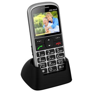 MYPHONE Telefón pre seniorov HALO 11 strieborný