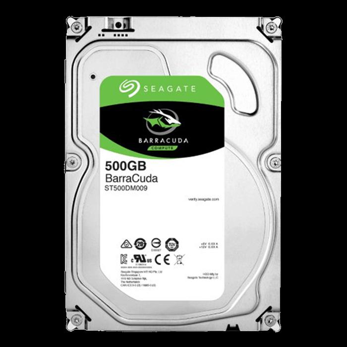 "SEAGATE BarraCuda 500GB/3,5""/32MB/26mm"