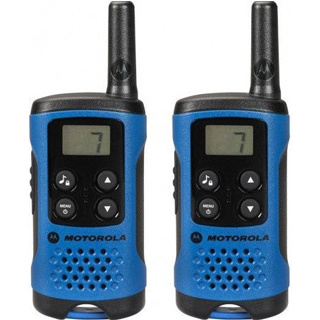 MOTOROLA T41 WALKIE TALKIE Blue