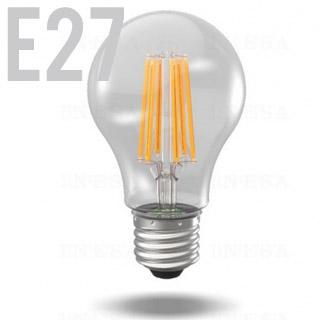 INESA LED žiarovka E27/GLS/6W/2700K/810lm