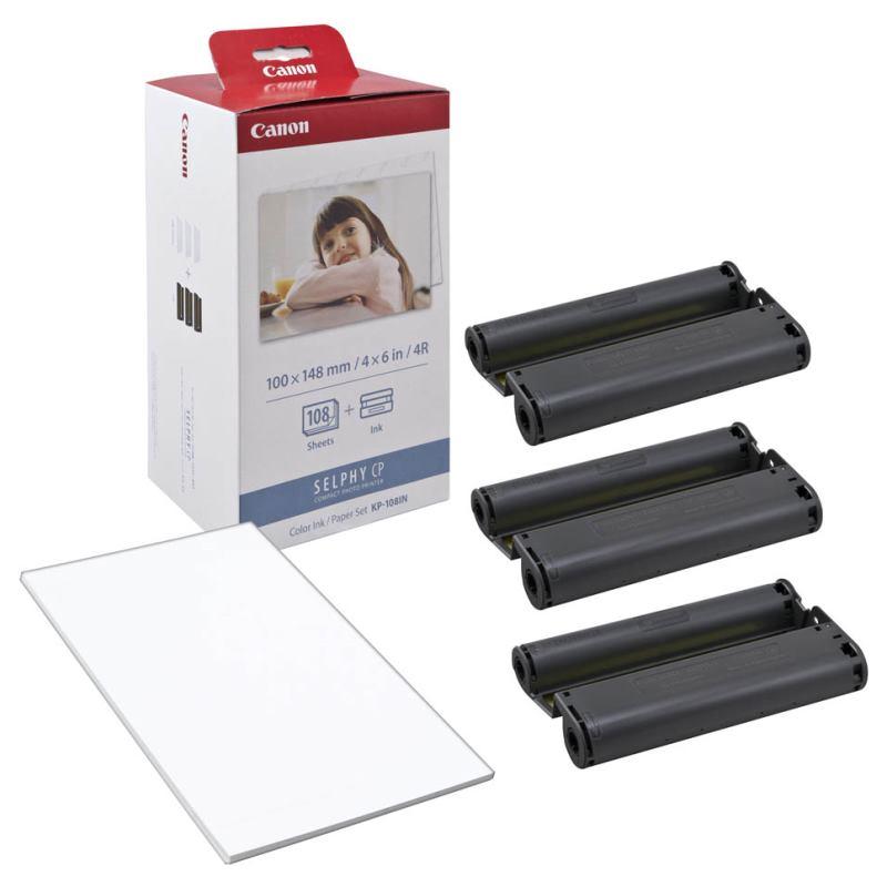 CANON Cartridge/Papier SELPHY KP-108IN