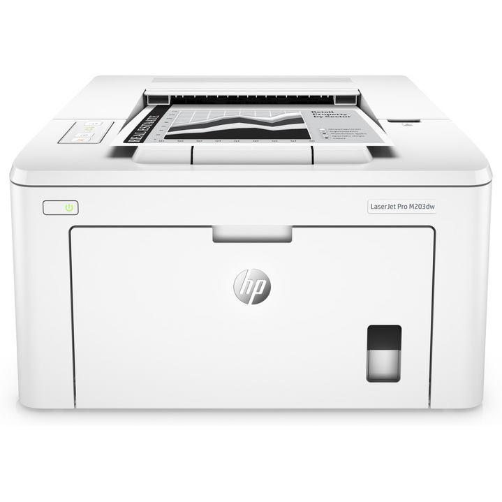 HP Tlačiareň  LaserJet Pro M203dw biela A4