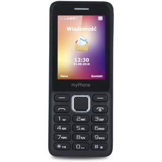 MYPHONE Mobilný telefón 6310 Čierny