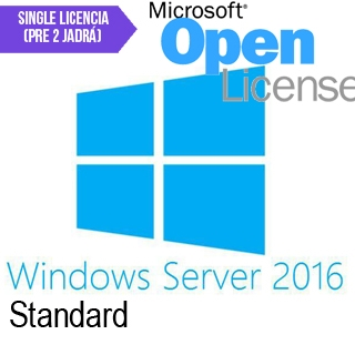 MICROSOFT Windows Server ST 2016 Sin. 2 core MOL