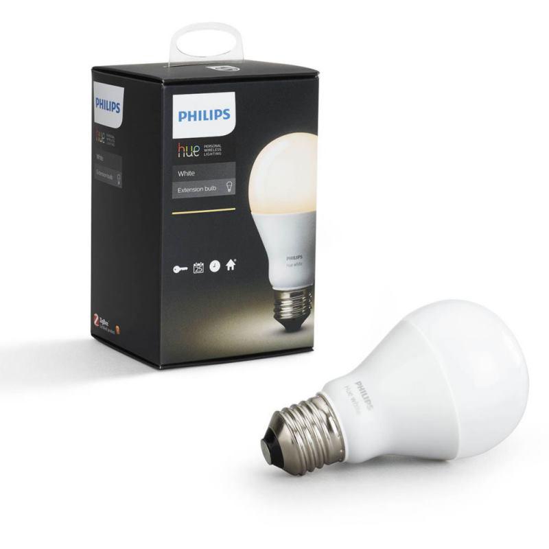 PHILIPS HUE Single Bulb E27 White A60