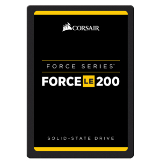 "CORSAIR SSD FORCE LE200 120GB/2,5""/SATA3/7mm"