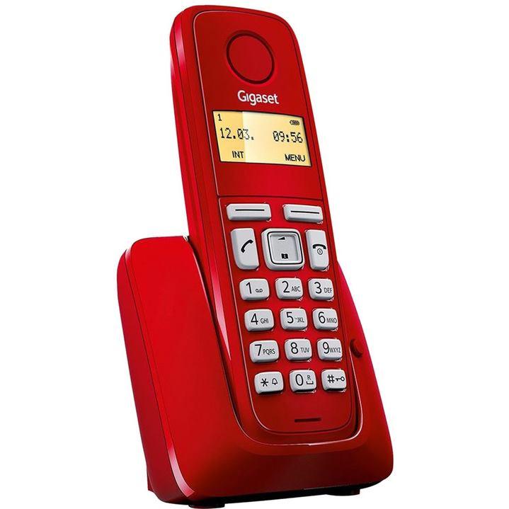 Gigaset A120 Telefonny pristroj červený