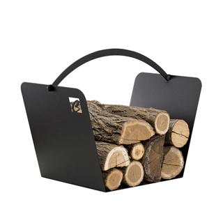 CafDesign Zásobník na drevo kôš