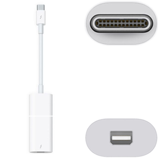 APPLE Adaptér Thunderbolt 3 (Type C)/Thunderbolt 2