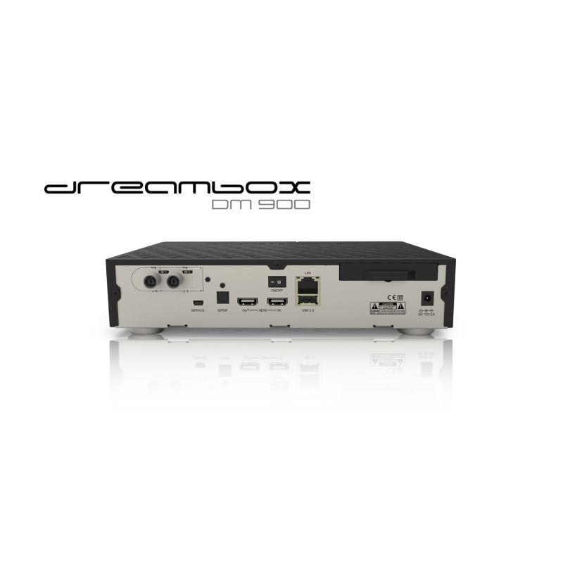 c2ff38034 DreamBox Satelitný prijímač DM-900 UHD 4K - AGEM Computers ESHOP
