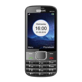 MAXCOM Telefón  CLASSIC MM320 čierny