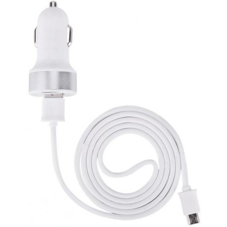 DEVIA Car Charger (2,1A) + Micro USB 1m