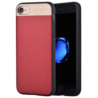 COMMA Vivid Leather case for iPhone 8/7 Red