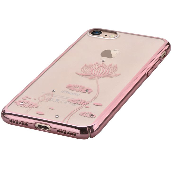 DEVIA Crystal Lotus for iPhone 8 7 Plus (Swarovski) Rose Gold ... 4b92ab2dded