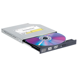 LG Interná DVD-RW SLIM pre notebooky Black